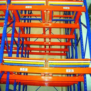 Powerway Steel Selective Pallet Rack Industrial Warehouse Storage