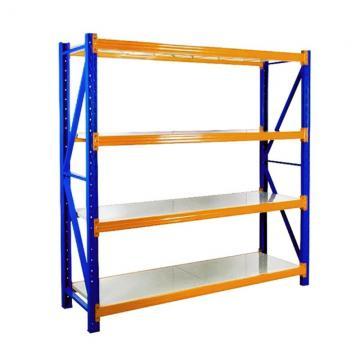 Industrial Galvanized Warehouse Drive Through Pallet&Nbsp; Shelving Rack Storage with Storage Bins