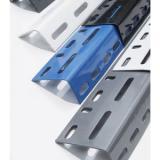 50X50mm Slotted Zinc Plated Strut Angle