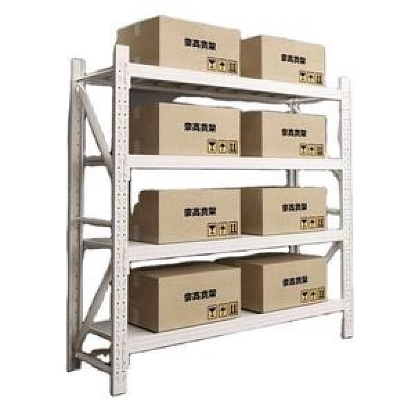 Heavy Duty Selective Stacking Galvanized Automatic Warehouse Storage Mezzanine Cantilever Teardrop Shelf Metal Steel Pallet Shuttle Rack #3 image