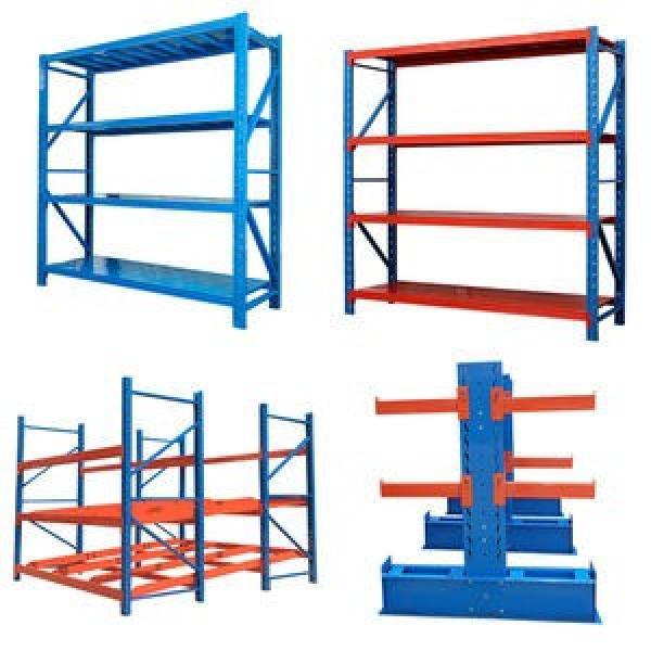 Heavy Display Adjustable Rivet Rack Supermarket/Warehouse Steel Metal Shelving #3 image