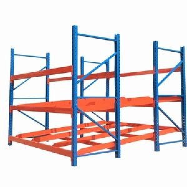 Heavy Steel Metal Supermarket/Warehouse Display Adjustable Rivet Rack Shelving #2 image