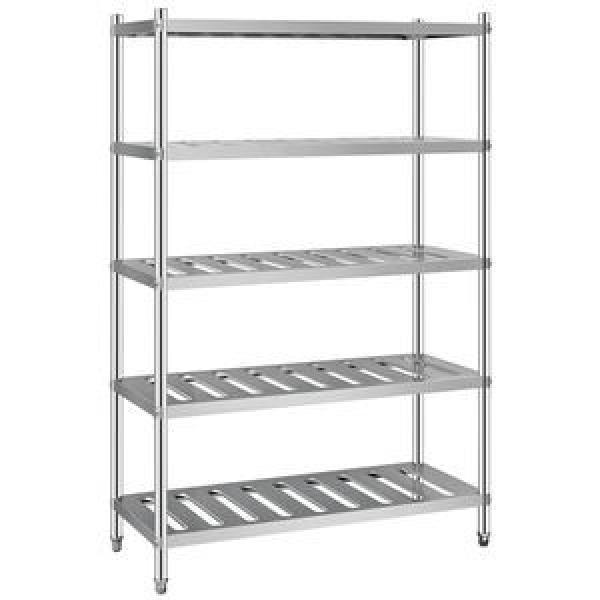 Heavy Steel Metal Supermarket/Warehouse Display Adjustable Rivet Rack Shelving #1 image