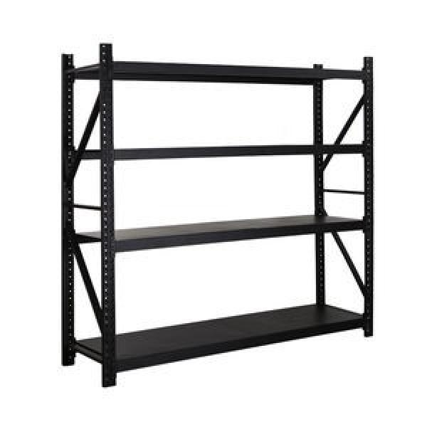 Stable High Capacity Steel Metal Platform Mezzanine Floor Pallet Rack Storage Steel Structure #1 image
