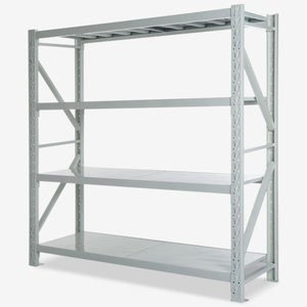 Heavy Steel Metal Supermarket/Warehouse Display Adjustable Rivet Rack Shelving #3 image