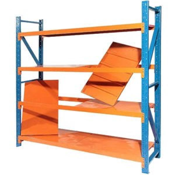 Heavy Duty Selective Stacking Galvanized Automatic Warehouse Storage Mezzanine Cantilever Teardrop Shelf Metal Steel Pallet Shuttle Rack #1 image
