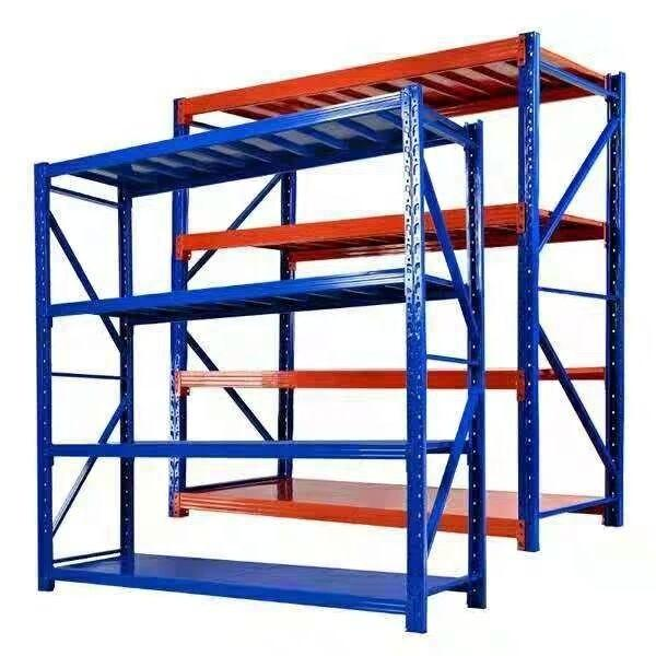 Heavy Display Adjustable Rivet Racksupermarket/Warehouse Steel Metal Shelving #2 image
