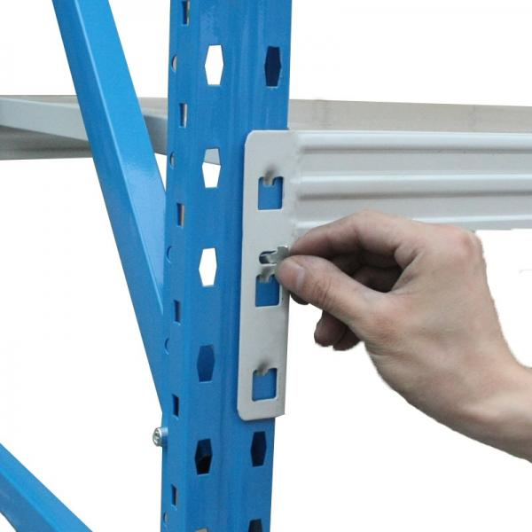 Heavy Display Supermarket/Warehouse Steel Metal Adjustable Rivet Rack Shelving #1 image