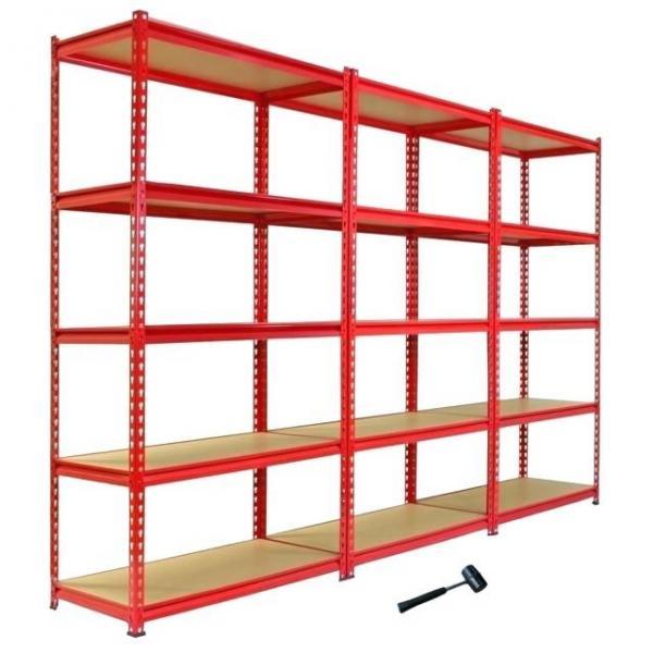 Steel Metal Heavy Supermarket/Warehouse Display Adjustable Rivet Rack Shelving #1 image