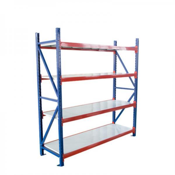 Steel Metal Heavy Supermarket/Warehouse Display Adjustable Rivet Rack Shelving #2 image