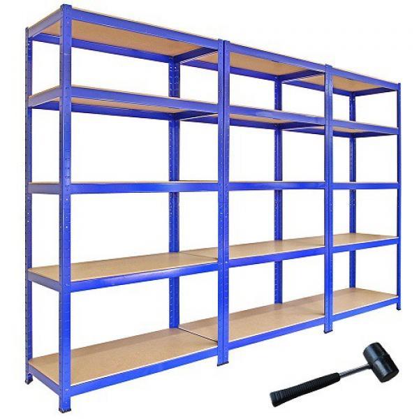 Heavy Display Supermarket/Warehouse Steel Metal Adjustable Rivet Rack Shelving #3 image