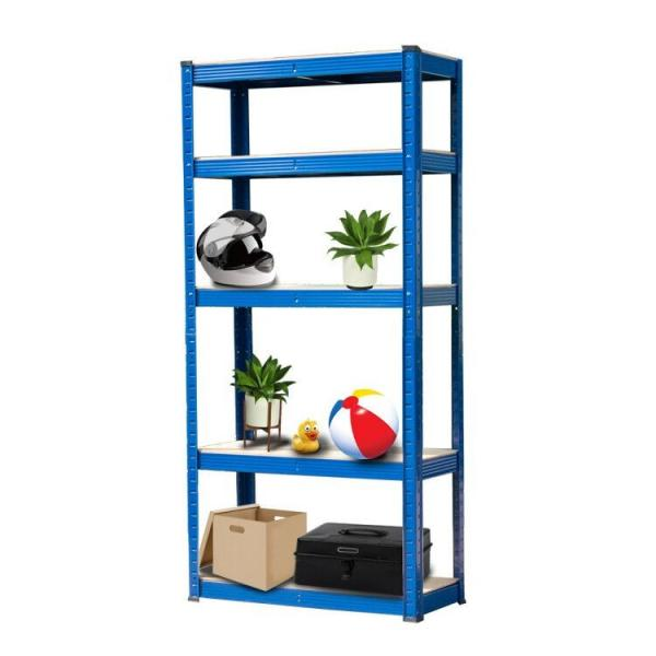 China Industrial Light Heavy Duty Warehouse Storage Pallet Boltless Rivet Angle Metal Steel Shelf #3 image