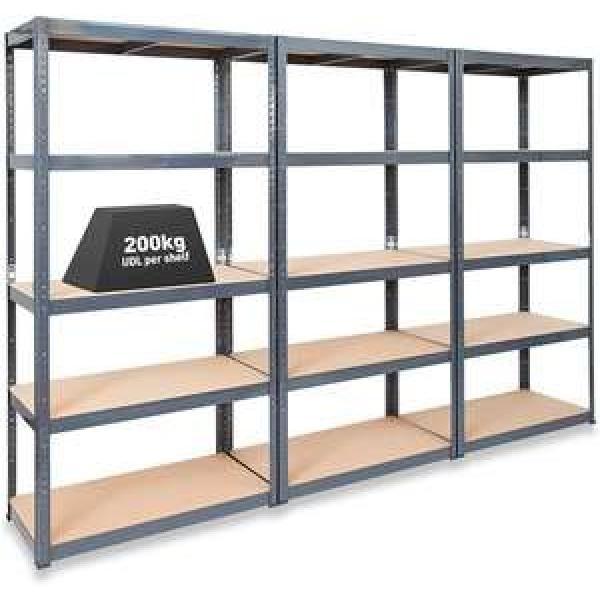 Heavy Duty Selective Stacking Galvanized Automatic Warehouse Storage Mezzanine Cantilever Teardrop Shelf Metal Steel Pallet Shuttle Rack #2 image
