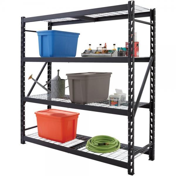 Flour Products Storage Rack Commercial Chrome Adjustable Metal Shelving Units #2 image